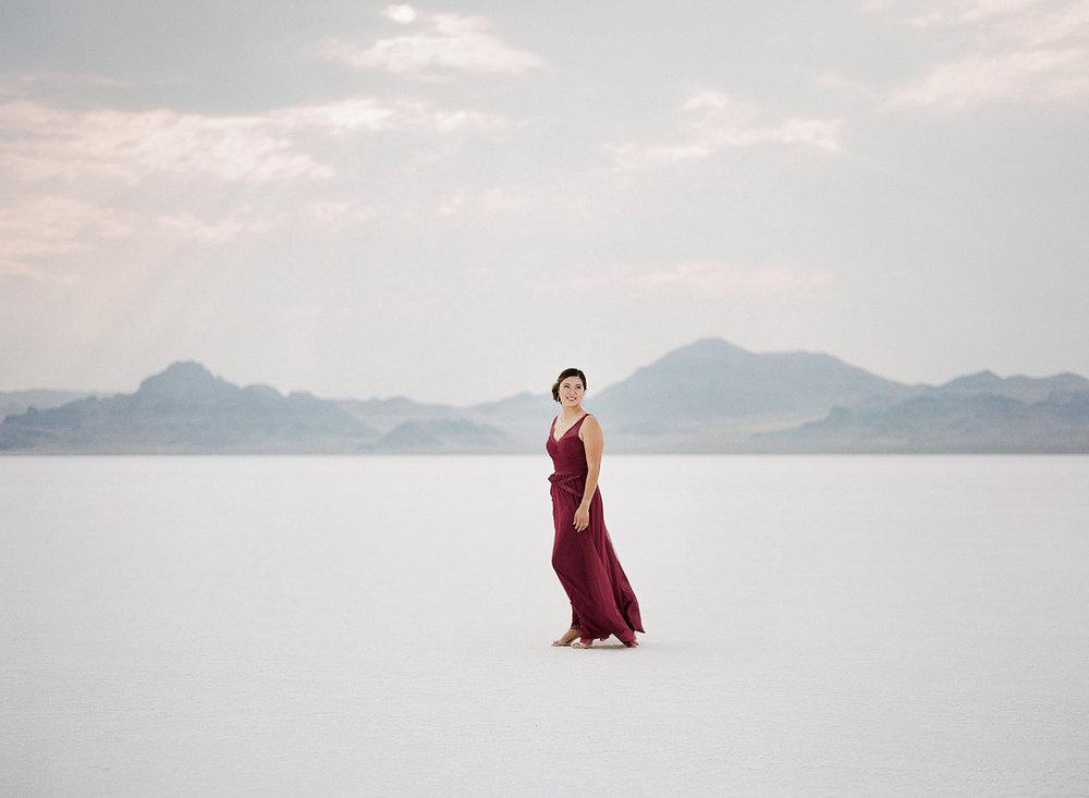 Sandy A La Mode | Booneville Salt Flats, Utah