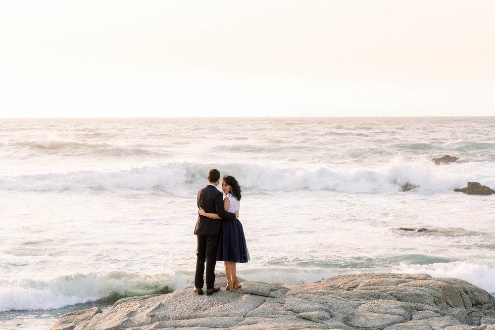 Bianca + Sam | Asilomar Beach