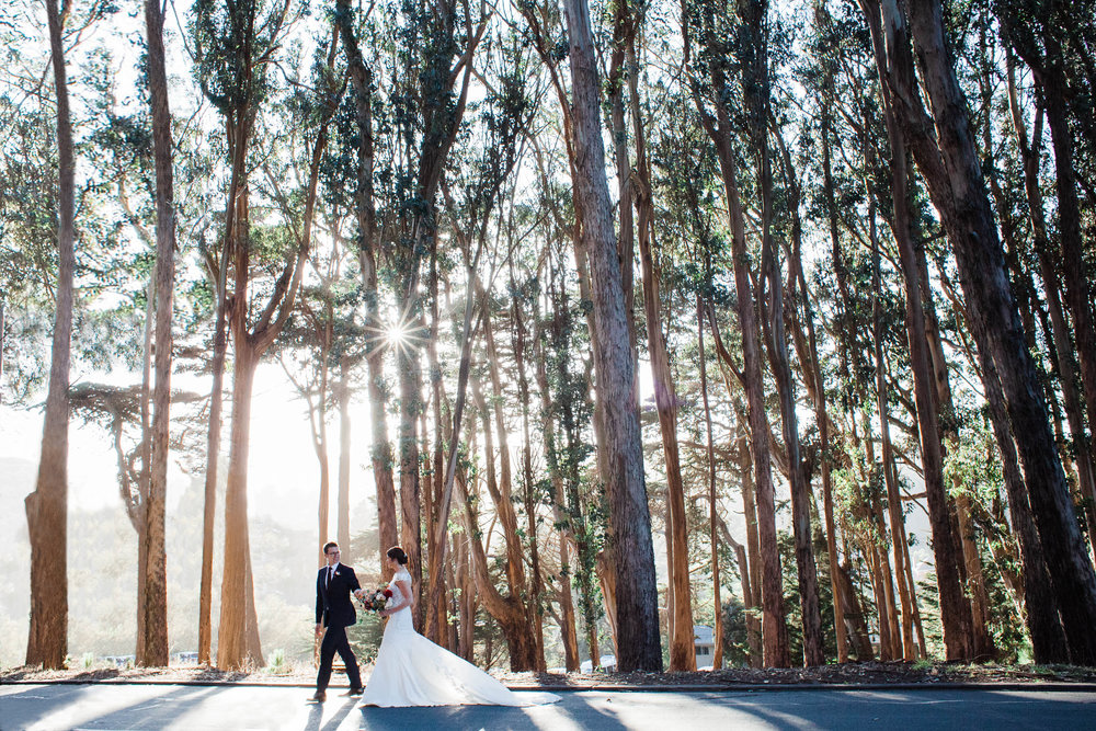 <h3>San Francisco</h3>Romantic Golden Gate Club Wedding