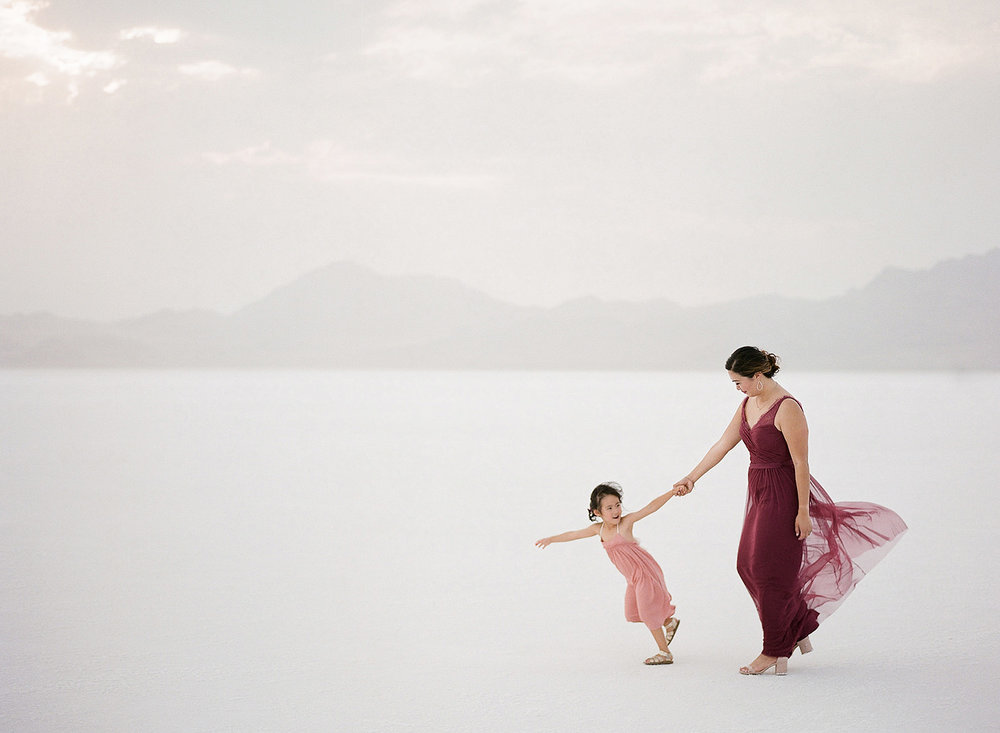 Salt Flats Family Session