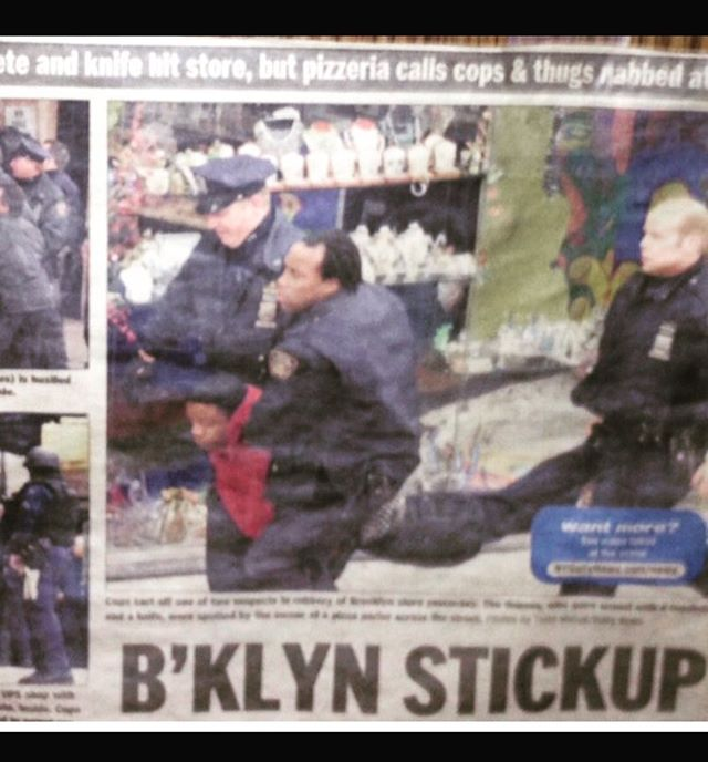 Most people get their names off of gimmicks or some self proclaimed shit that they never in their life will be about. Never forget, the @nydailynews named us. This is Flatbush, and it's a #BKLYNSTICKUP forever. Funny what each one of us has become since then. When they give you nothing... Take Everything.