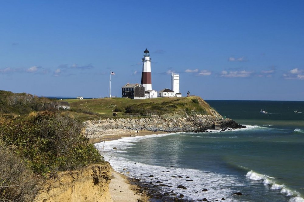The Montauk Point Lighthouse. Image source: Discover Long Island.