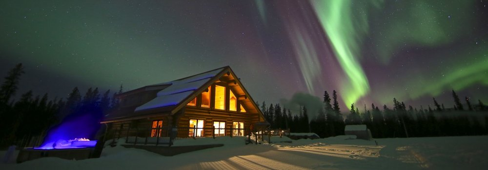 Northern Lights in Whitehorse, Yukon. Image source: Northern Lights Yukon