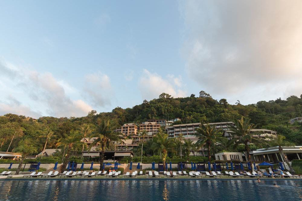 Rooms are built into the hillside providing beautiful ocean views. Image by Richard Coombs.
