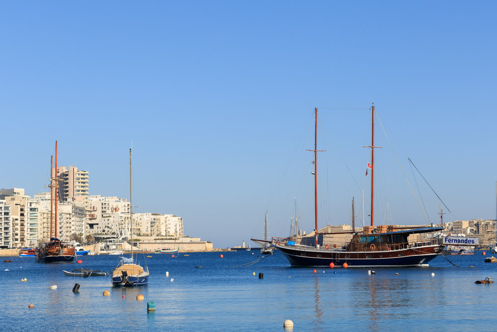 Sliema Harbour. Image by Richard Coombs.
