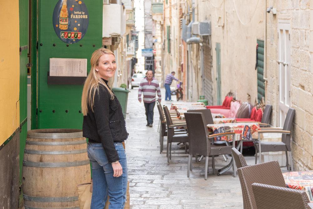 Strait Street, Valletta. Image by Richard Coombs