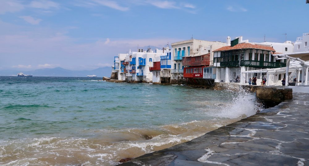 Little Venice, Mykonos.