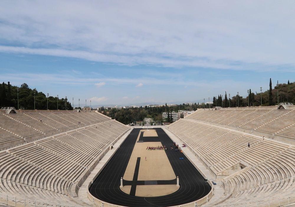 The Panathenaic Stadium.