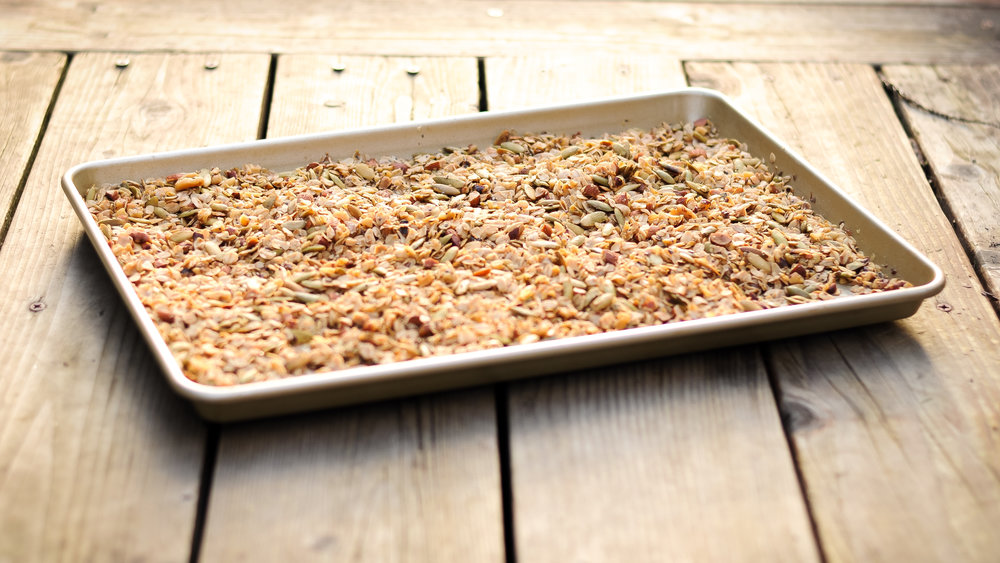 DIDN'T KNOW YOU COULD DAYDREAM ABOUT WARM, HOMEMADE GRANOLA UNTIL NOW