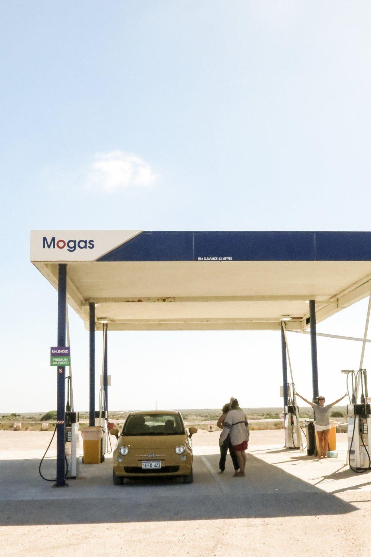 Nullarbor petrol station