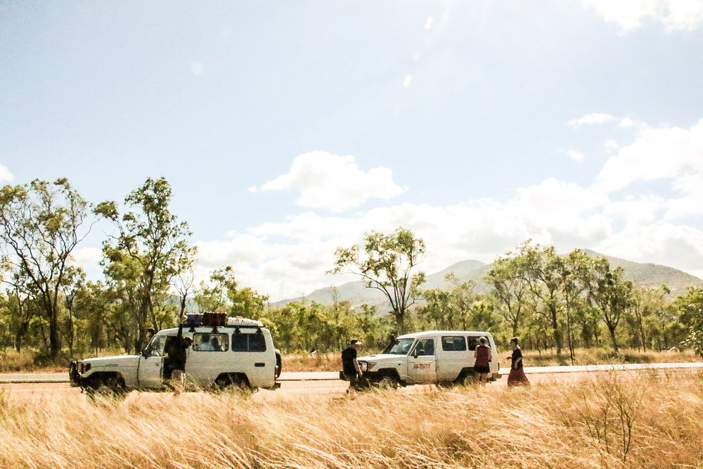 Convoy en route | Photo by Jemma Scott @thesalty.dreamers | Cape York, Australia