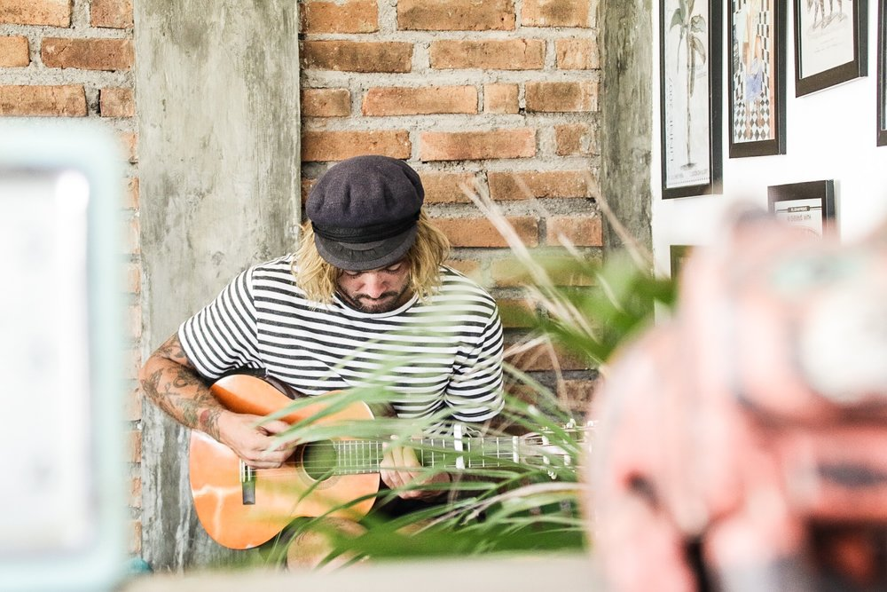 Life in Canggu // CRILLE RASK - Crille Rask, more commonly known as Raskal; is a photographer, creative director and Rhythm ambassador. A man with a serious sense of style and a warm relaxed nature.  You can find him thriving in the creative hub and that is Canggu, Bali...