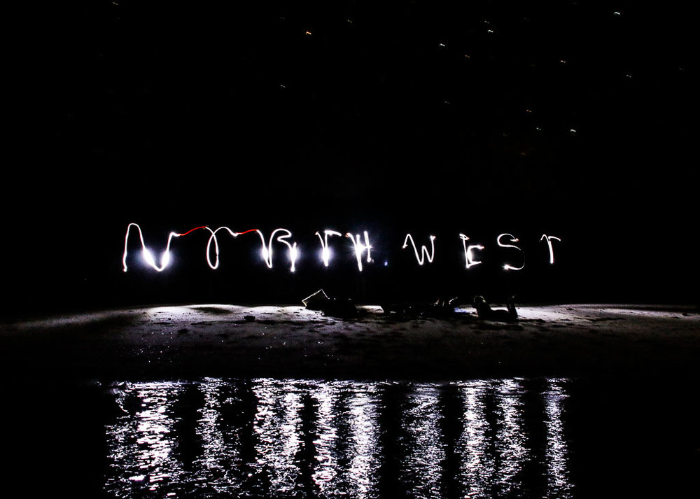 Under the stars. Our North West odyssey.