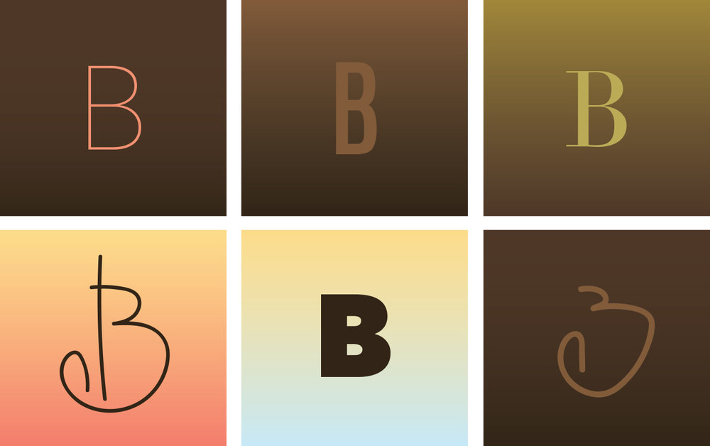 FIG.5: What you have now are the beginnings of an experiment in branding. This palette could easily be the basis for a chocolate or coffee project. Once you nail down a typeface... a logo can't be far behind.  If anyone has plans of opening a chocolate and/or coffee shop near Belmont Harbor ...  [Next Steps]