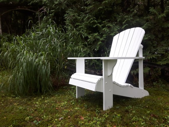 We participated in a class at  North House Folk School  and modeled our chairs after their design.