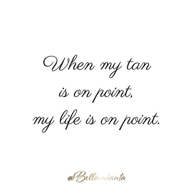 True story! Inject a bit of glow into your life with a Bellamianta spray tan for just €25. Book online at www.michellesskinandbeautyclinic.ie