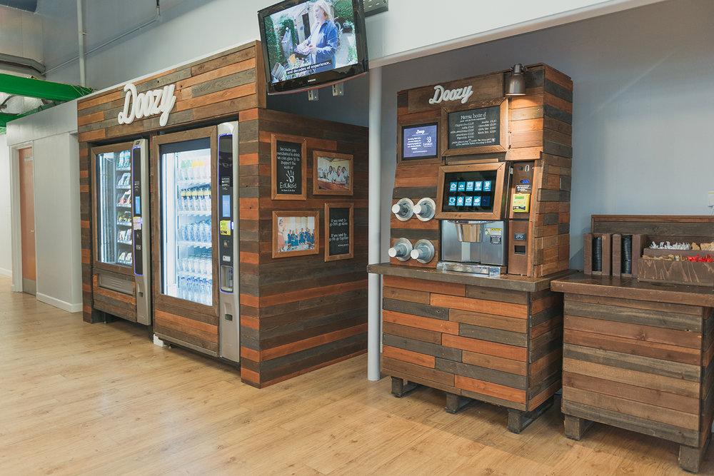 Doozy healthy vending machine