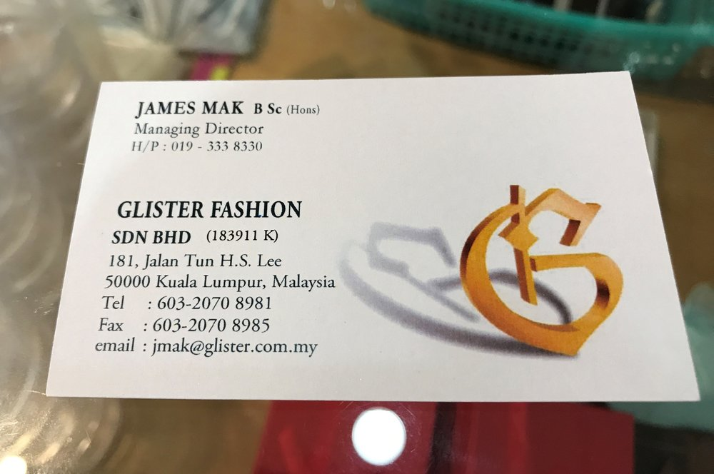 Jewellery supply stores KL