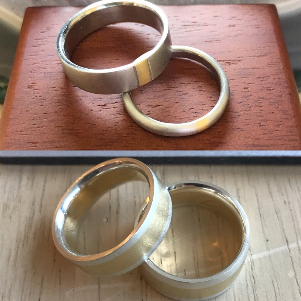 wedding ring workshop gold platinum