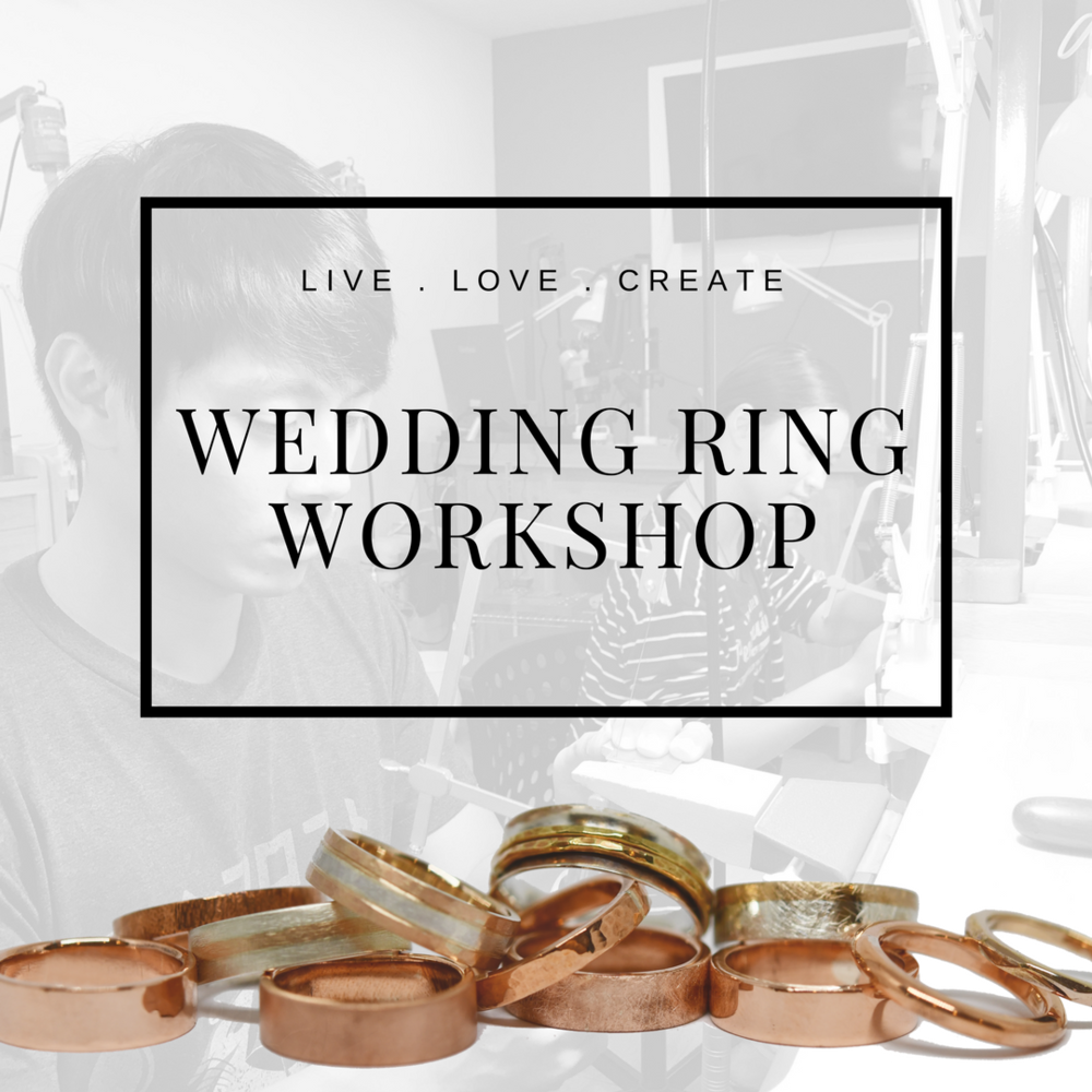 Celebrate your unique relationship with one of a kind wedding rings!  click here  for more information or to book in for a class.