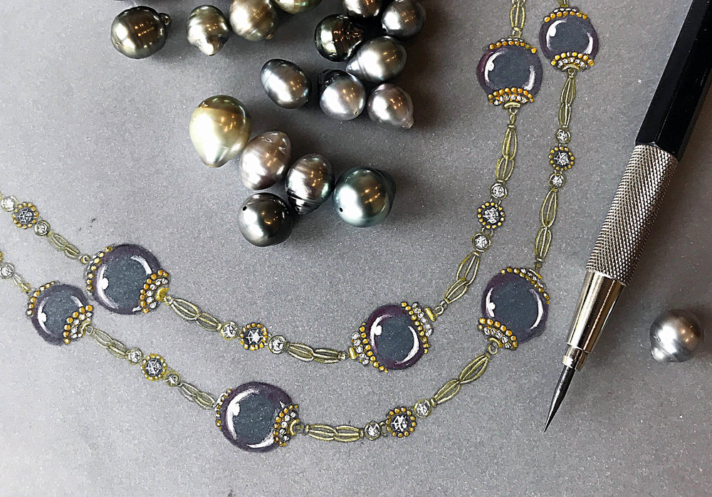 jewellery design and rendering classes