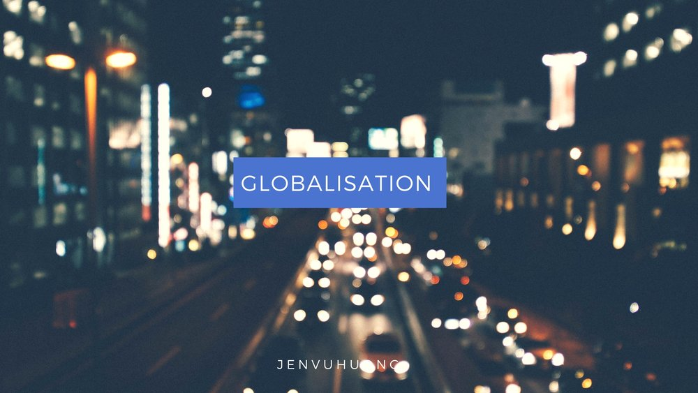 Keep updated articles about theories and examples of globalisation