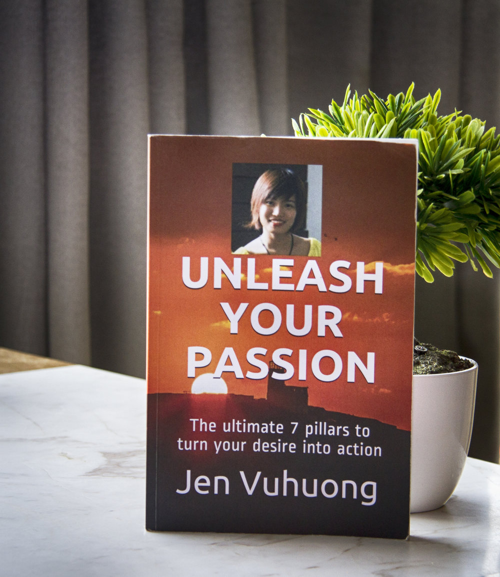 The ultimate 7 pillars to unleash your passion   The book will take you through nine major milestones in my life that helped me unleash my passion.
