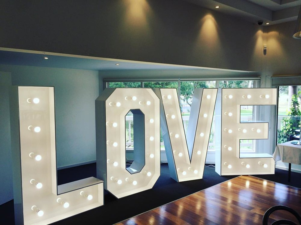 LIGHT UP LETTERS -