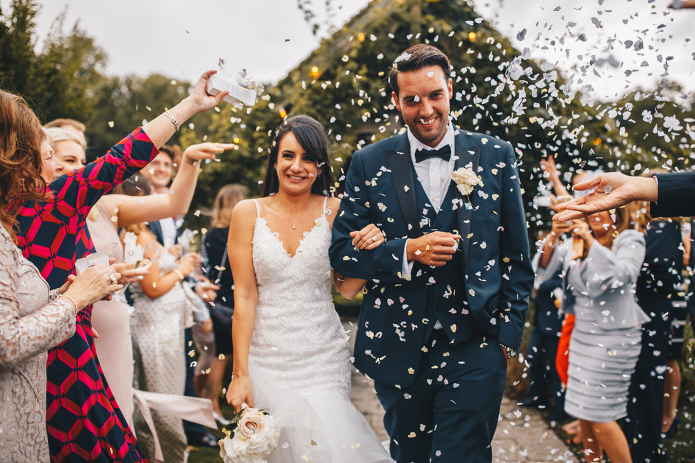 "- ""When we say we couldn't be happier with the photos Elle took of our wedding day we truly, truly mean it. I couldn't recommend her and her husband enough to anyone.""Charlotte + James"