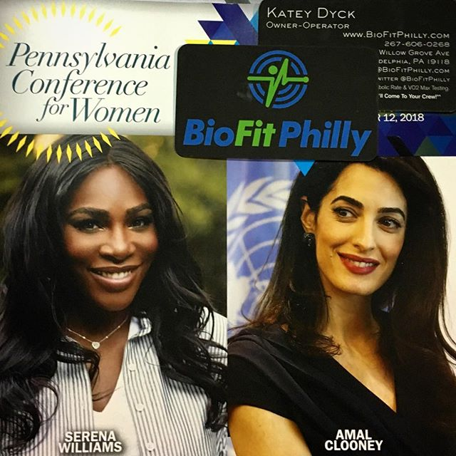 Proud to represent BioFit Philly at the #PennWomen conference. #womanownedbusiness #Philly #womenempowerment #bosslady