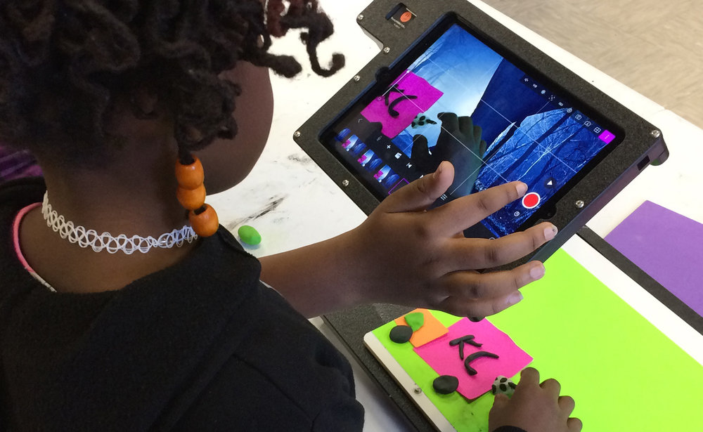 ReadyANIMATOR allowed fourth graders in a creative arts elementary school to create green-screen animation that became an integral part of their spring musical production.