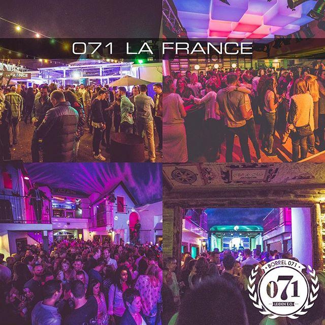 Het is weekend! Vanaf 18.00u. wordt er weer lekker geborreld bij La France! Wij hebben er zin in! Tot straks! #borrel071 #lafrance #borrelen #weekend #vrijmibo