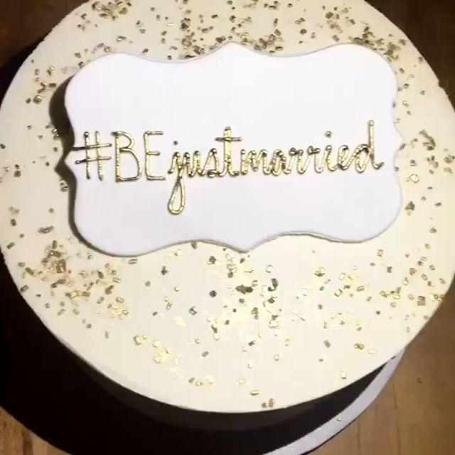 Shoutout to the @bakeshoppeto for killing it with our cake and Ask Box cookies. Everything was so beautiful, and tasty!  #askbox #engagementparty #myfaceonacookie #justbiffi #BEjustmarried