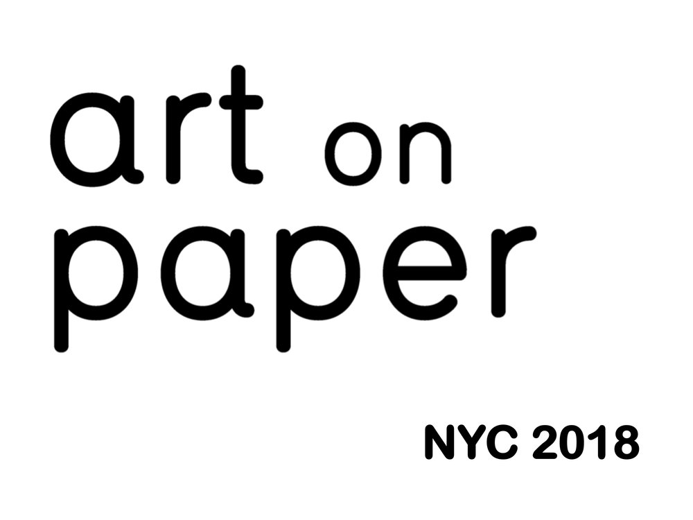 Art on Paper returns to downtown Manhattan's Pier 36 in March of 2018 with eighty galleries featuring top modern and contemporary paper-based art. Art on Paper's medium-driven focus lends itself to significant projects - unique moments that have set the fair apart and established an important destination for the arts in New York City. Gallery Victor Armendariz,  Booth #619.  Contact gallery for complimentary show pass by availability