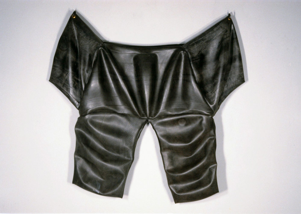 Body Bag   1990  rubber  65 X 64 X 6""