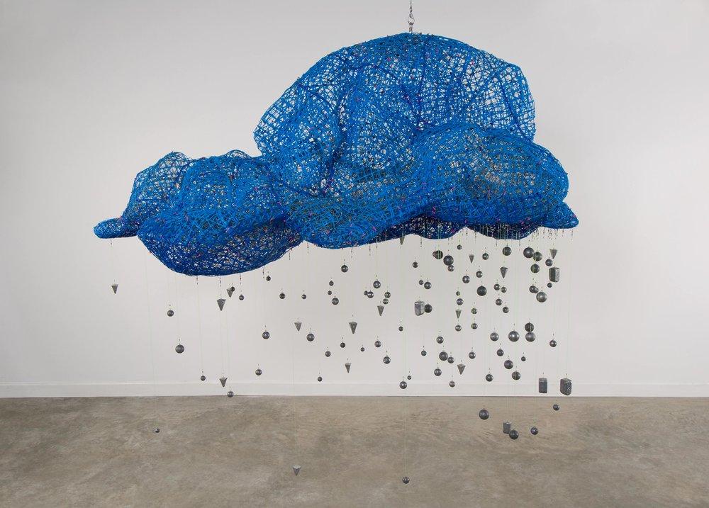 Brainstorm , plastic+lead,8' x 8' x 4', 2010