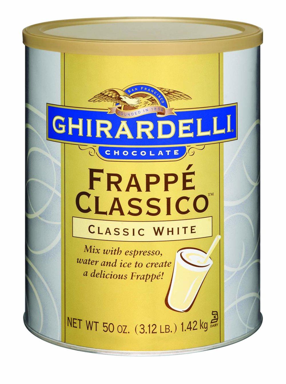 Frappé Classico Classic White