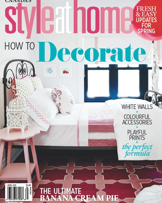 Style at Home - April 2015