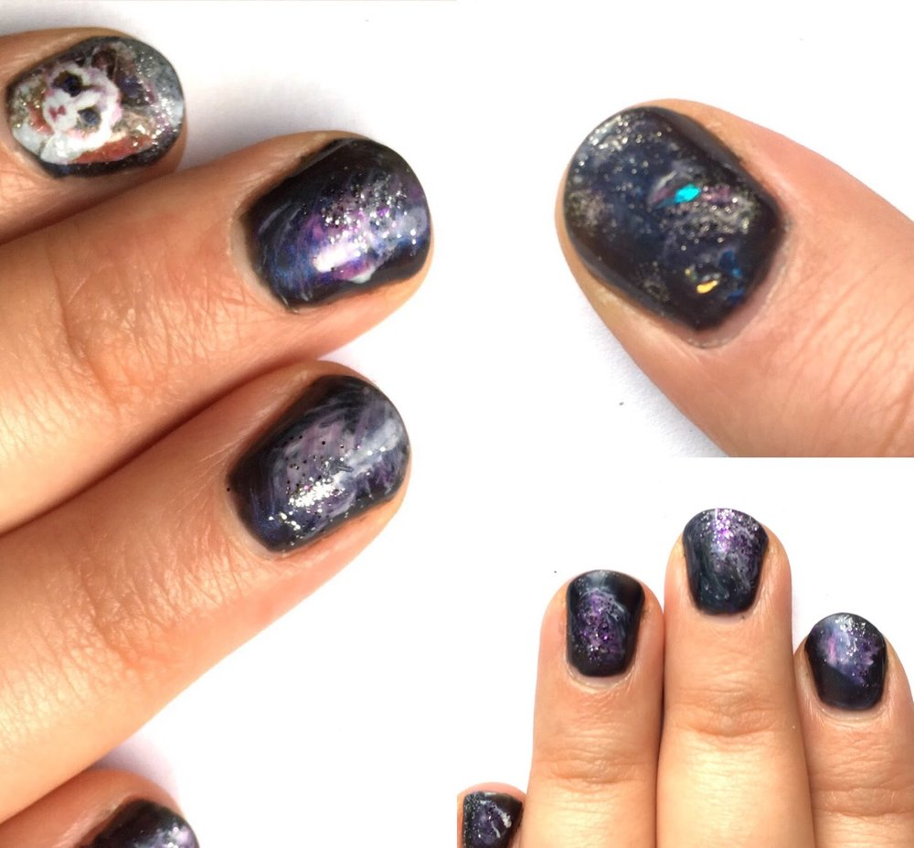 Space cat nails just coz we can !