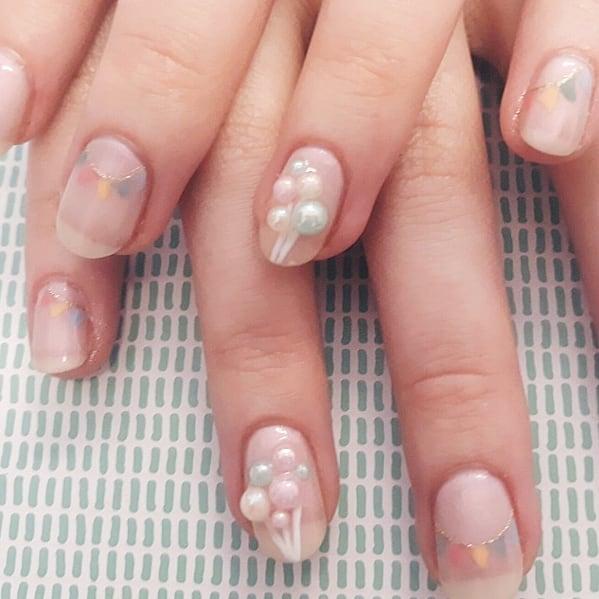 🎈 #nailart #naildesign #nailsdid #nailswag #balloons🎈 #ladybosslife #nailsedinburgh