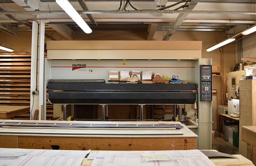 Italpress Veneer Press