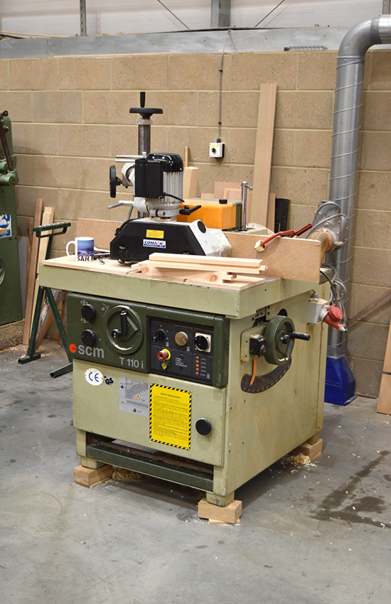 SCM T110i Spindle Moulder