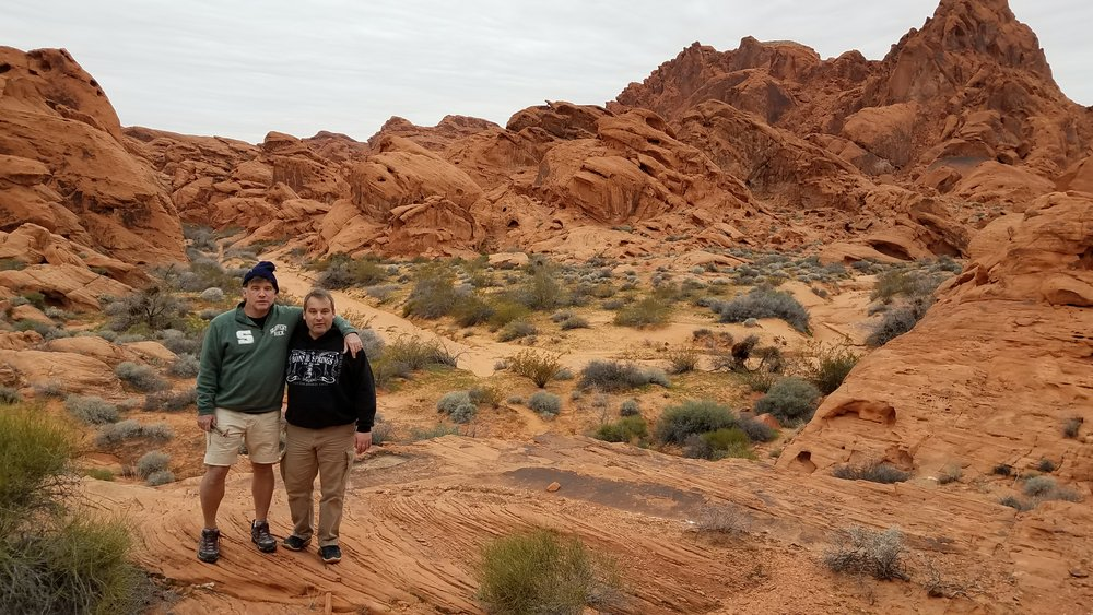 VALLEY OF FIRE MANAGERS TOM LEGO & ADAM STONE