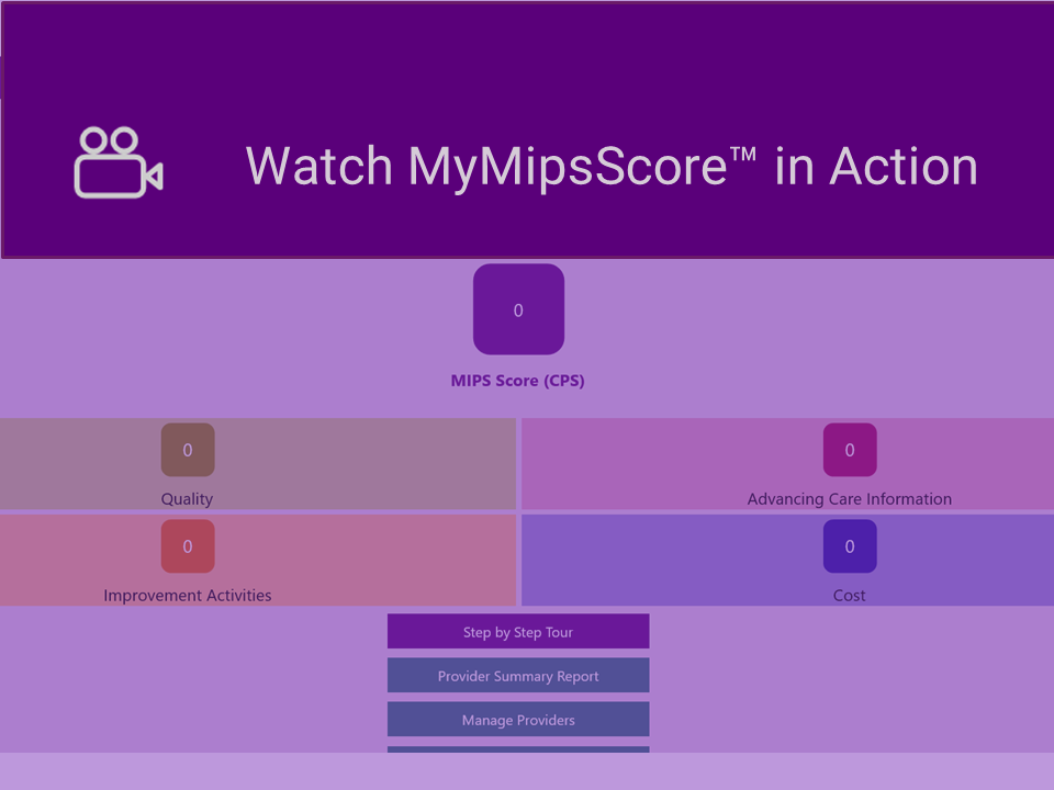 10 Steps to MIPS Score