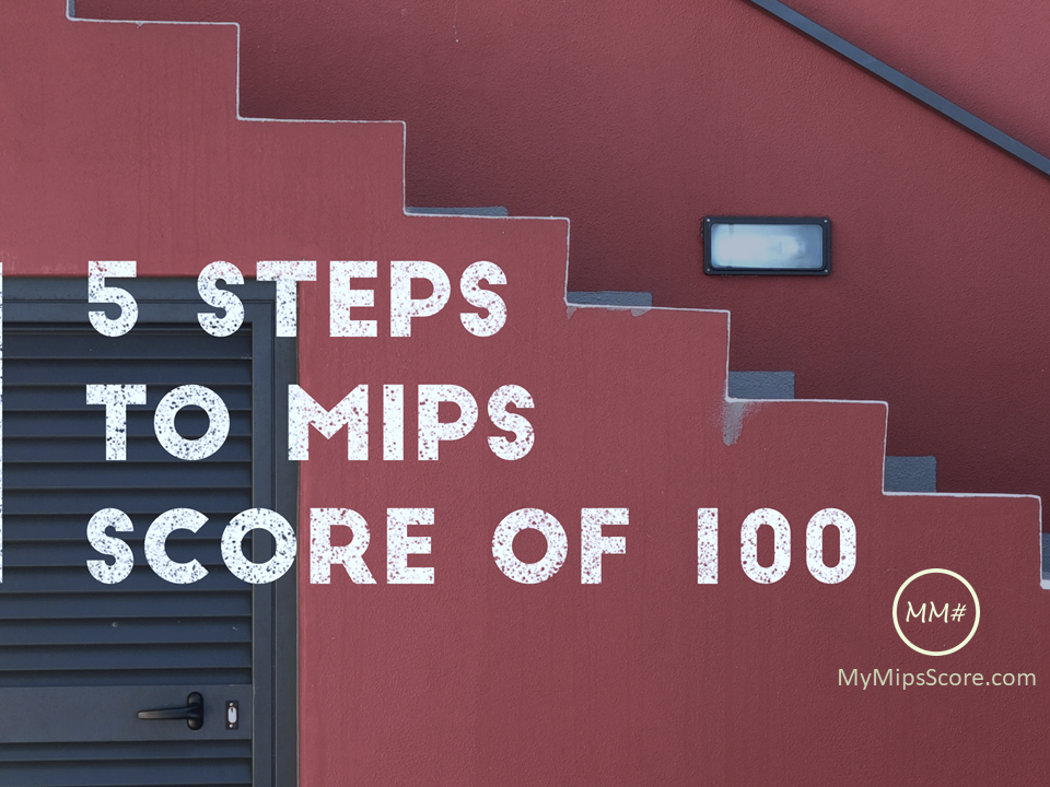 5 Steps to MIPS Score of 100