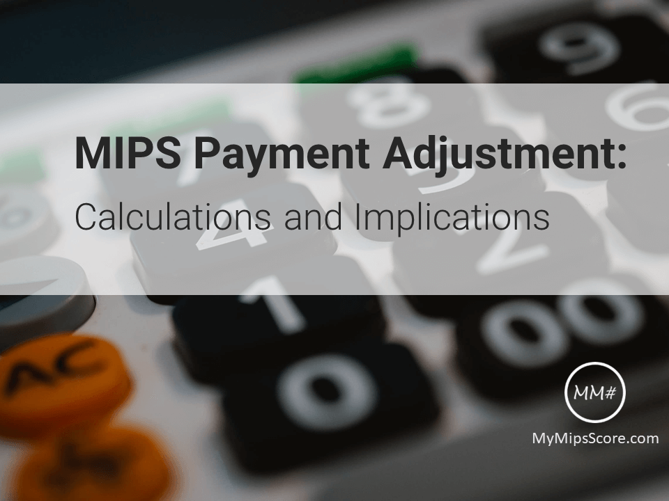 MIPS is a comparative and competitive program in which Composite Performance Score (MIPS Score) would be the primary determinant of payment adjustments.