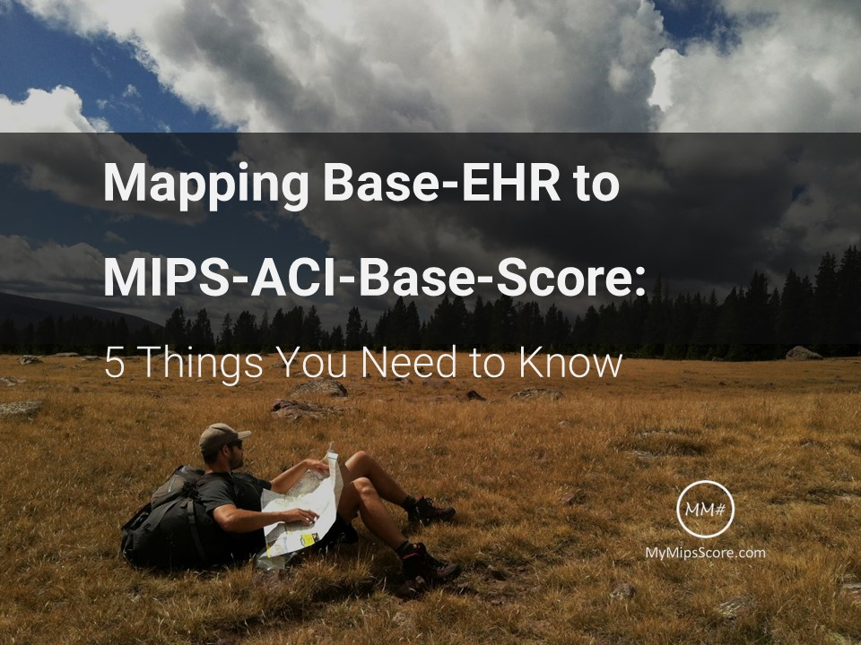 Although providers can use a 2014 or a 2015 certified EHR for 2018 MIPS reporting year, starting 2019, 2015 edition will be required. However, the mapping between 2015 Edition EHR and the ACI category reporting requirements has providers and EHR vendors confused. MyMipsScore attempts to eliminate this confusion with the help of an infographic that explains this mapping.