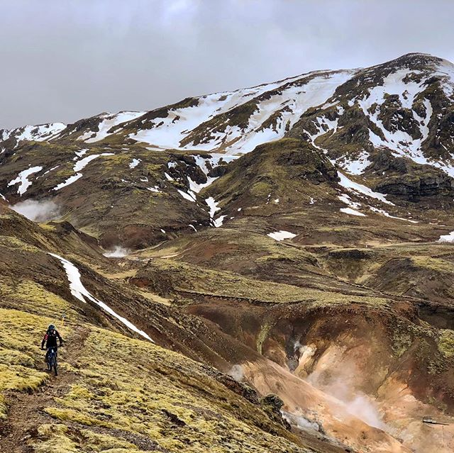 Winter is almost over in the almost arctic! #madeinmts #mtblife #mtbiceland #mtbike #mtbpictureoftheday #mountainbike