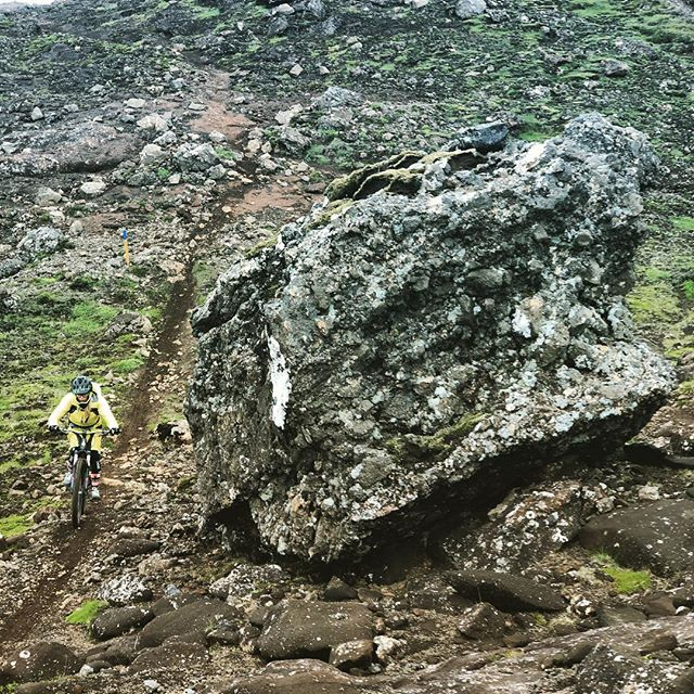 Single track for days! #madeinmts #mtblife #mountainbike #mountainbiker #mtbiceland #iceland #mtbgirl #mtbtrail #mtbtrails # mountainbiking #iceland