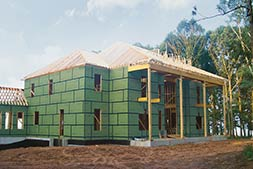 New To The Industry Within The Last Couple Years Is A Product Called Zip  System By Huber Engineered Woods. Itu0027s An Exterior Wall Sheathing That  Includes A ...